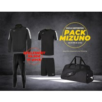 Pack Mizuno Black