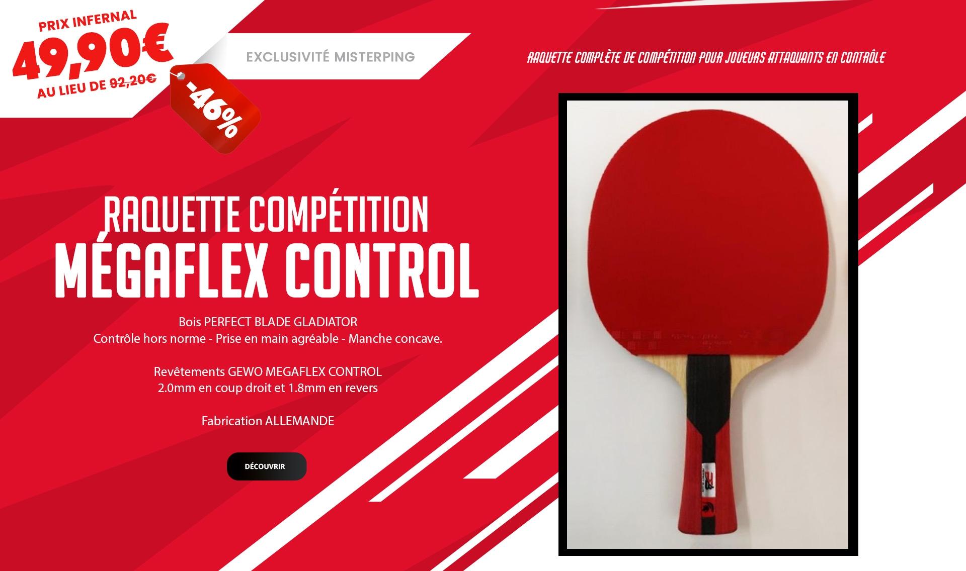 Raquette Megaflex Competition